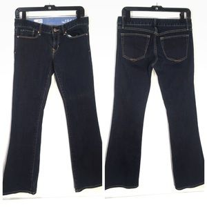 GAP SEXY BOOT DARK WASH JEANS 27